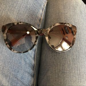 NWOT Tory Burch Havana grey gradient sunglasses